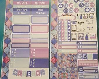 Scalloped Edges Personal Planner Kit