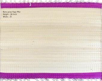 SKG01 Yoga Mats ( Kora Grass ) 26H x 31W Inch