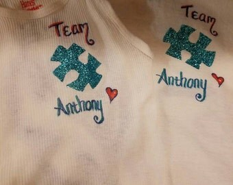 Autism Awareness Custom T-shirt