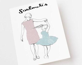 Soulmates card