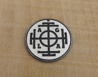 Wheel of fortune amulet, Fortuna-Symbol, Fortune talisman. Fortune necklace, a symbol of good luck jewerly,  success, lucky amulet