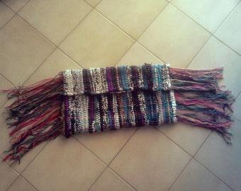 Handmade patchwork woman's envelope bag