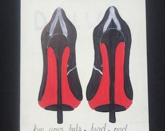 High Heel Art