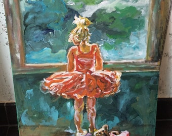 Girl in balletdress