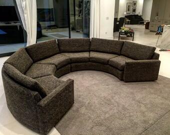 MILO BAUGHMAN Semi circle sofa