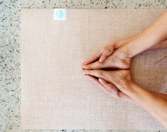 Eco Friendly Natural Organic Yoga Mat