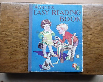 Warne's Easy Reader Book by Aunt Louisa - 1944