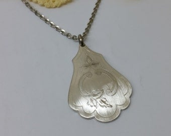 Silverware pendant flatware jewelry BH106
