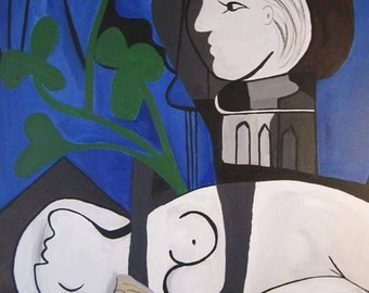 reproduction of Pablo Picasso