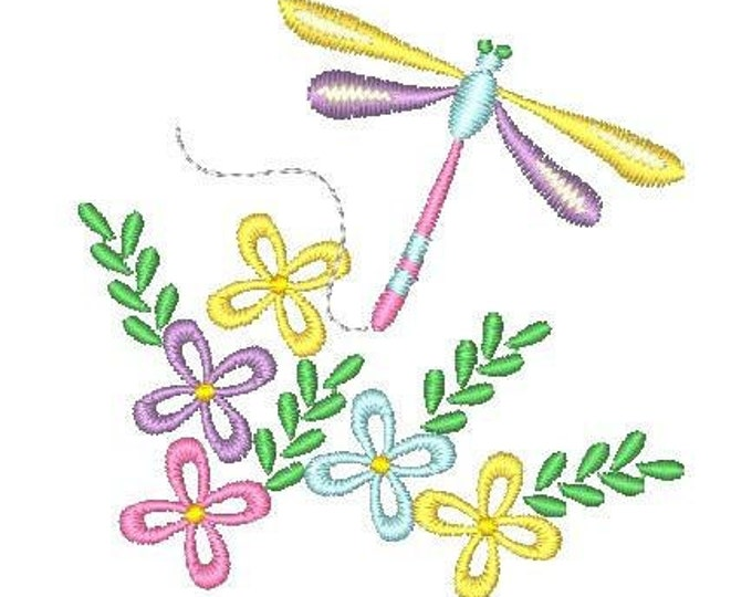 Florals & Flight ( 22 Machine Embroidery Designs from ATW )