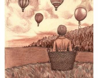 Balloon Dreams Print
