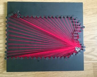 Pennsylvania-Philadelphia String Art