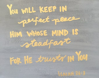 He Will Keep In Perfect Peace