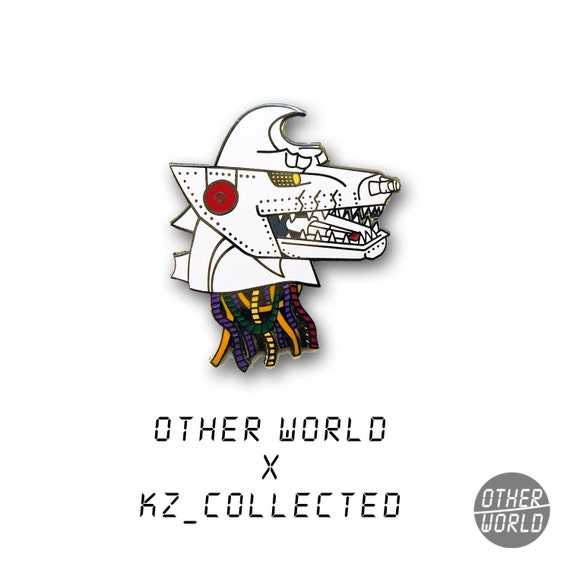 Mecha Godzilla Head pin