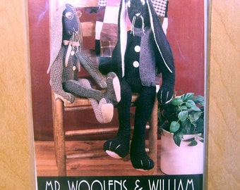 Mr Woolens & William Pattern - 2 Rabbits and a Cap - Indygo Junction - FREE POSTAGE