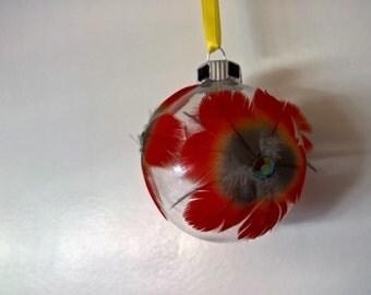 Amazing Feather Ornament