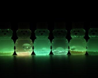 Mini Sensory Bear - Sensory Toy - Sensory Bottle - Autism Toys - Autism Sensory Toys -  Glow Set