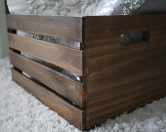Wooden Crate, Storage Crate