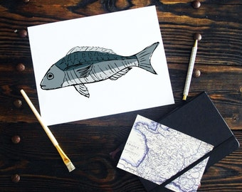 Fish Art Printable