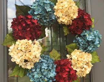 Patriotic Summer Wreath