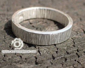 Raising ring, Handmade, 999-Fine Silver  [ #LTU-R002 ]