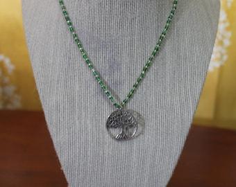 Beaded Tree Necklace