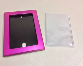 Comic book Frames for use with Toploaders Metallic Fuchsia