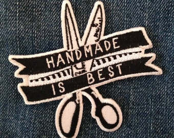 Iron On Patch - Handmade Is Best