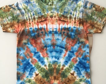 Tie Dye Handcrafted T-Shirt Size: Small (Free Shipping)