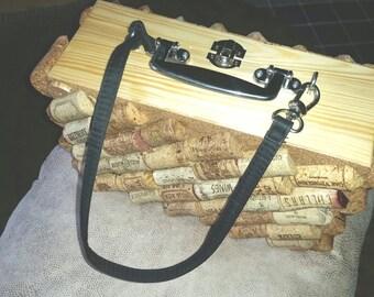 Wine Cork Purse/ Accessory Carrier