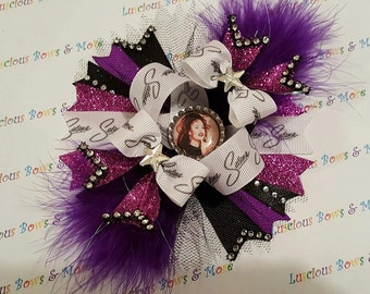 Selena Hair bow Queen of Tejano