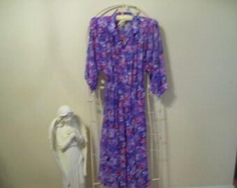 Vintage, lilac, purple,  dress