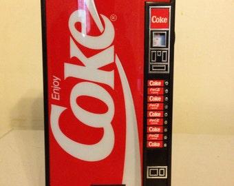 Coke Vending Machine AM/FM Radio