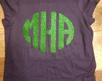 Custom monogram youth shirt