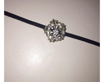 Jeweled Crystal Choker