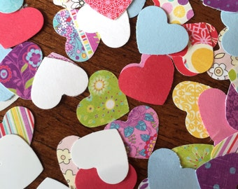 100 Heart Die Cuts