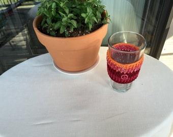 Peace Beverage Sleevie (orange/red)