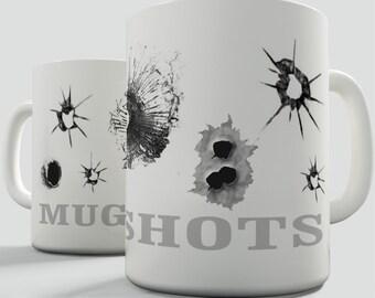 Mug Shot Ceramic Novelty Mug