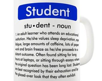 Student Definition Ceramic Novelty Mug
