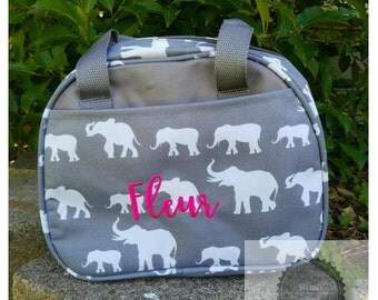 Gray Elephant  Lunch bags