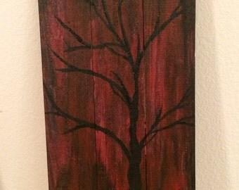Repurposed Wood Wall Art