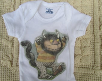 Where the Wild Things Are Onesie (Two sizes!)