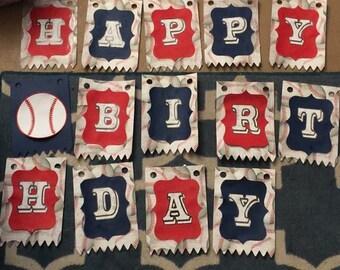 Baseball Theme Birthday Party