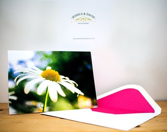 Greetings / note card - Beautiful Daisy Flower