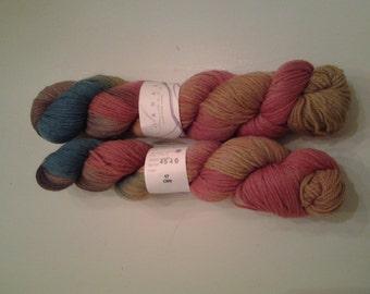 Lorna's hand dyed yarns