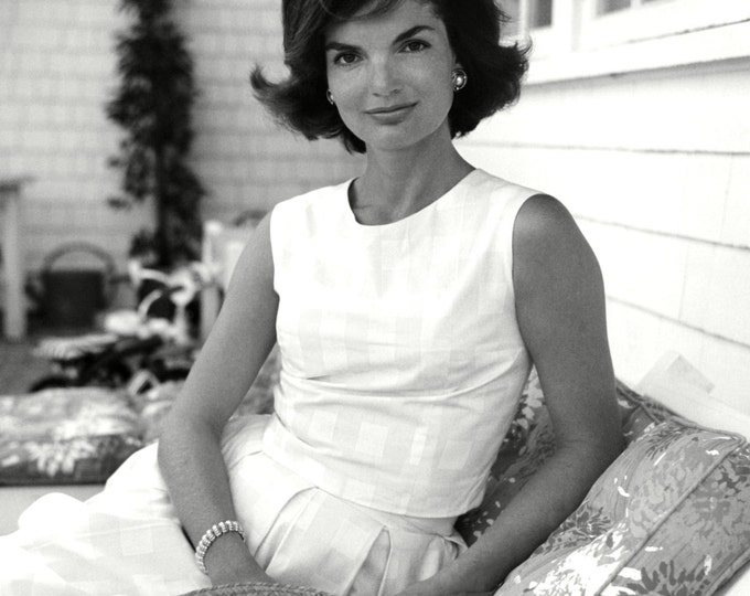 "Jacqueline ""Jackie"" Kennedy - 5X7, 8X10 or 11X14 Photo (ZZ-126)"