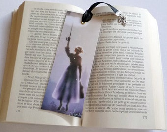 Made Mary Poppins - illustrated, laminated, bookmark