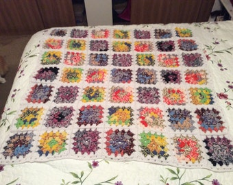 Stained Glass Style Baby Blanket