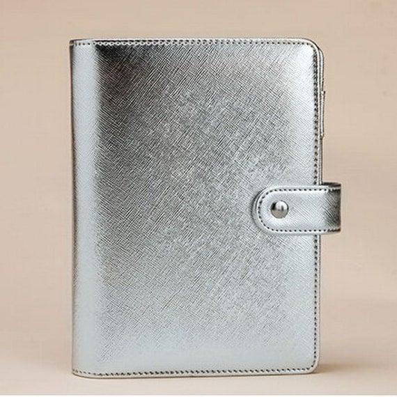 IN STOCK A5 Planner Binder In Silver Kikki K Filofax Carpe