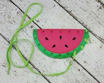 Summer Sale Watermelon Lacing Card